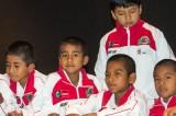 Niños triquis representan a México en Torneo Internacional de Básquetbol