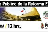 En Vivo: Debate sobre Reforma Energética en el Senado (@SenadoresPRD)