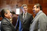 Preservar la gobernabilidad, piden diputados a Gómez Sandoval