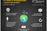 Propone Ejecutivo Federal nueva Ley de Federal de Telecomunicaciones y Radiodifusión #Infografía