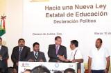 Gobierno, Congreso y Sección 22 acuerdan incumplir armonización de Reforma Educativa