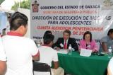 Realizan Cuarta Audiencia Penitenciaria para reintegración de 54 jóvenes internos