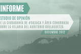 Gobierno de Oaxaca publica estudio de opinión sobre velaria del Auditorio Guelaguetza