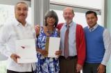 Firman acuerdo de colaboración UABJO y Universidad del Distrito de Columbia