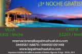 Vacaciones en Huatulco: 3a. noche a cuenta de Las Palmas