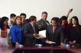 Recibe Congreso proyecto de Ley de Educación del Gobierno de Oaxaca