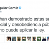 Gobierno negocia la Ley con quienes la violan: Aguilar Camín