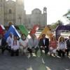 OAXACA: LETRAS DISTINTIVAS DE LA CIUDAD FRENTE AL TEMPLO DE SANTO DOMINGO DE GUZMÁN