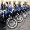 49 vehículos y moto patrullas para la prestación de servicios y seguridad en la ciudad de Oaxaca