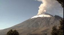 EN VIVO: Monitoreo en Volcán Popocatépetl