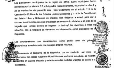 """OAXACA: Autoridades del Istmo reclaman al gobierno """"deficiente coordinación"""""""