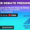 EN VIVO Tercer debate presidencial de México