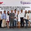 Santa Lucía del Camino: reabren clínica y Presidente se hace prueba