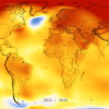 2018 fue el cuarto año más cálido desde 1880