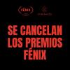 Depresión en mundo del cine: se cancelan Premios Fénix