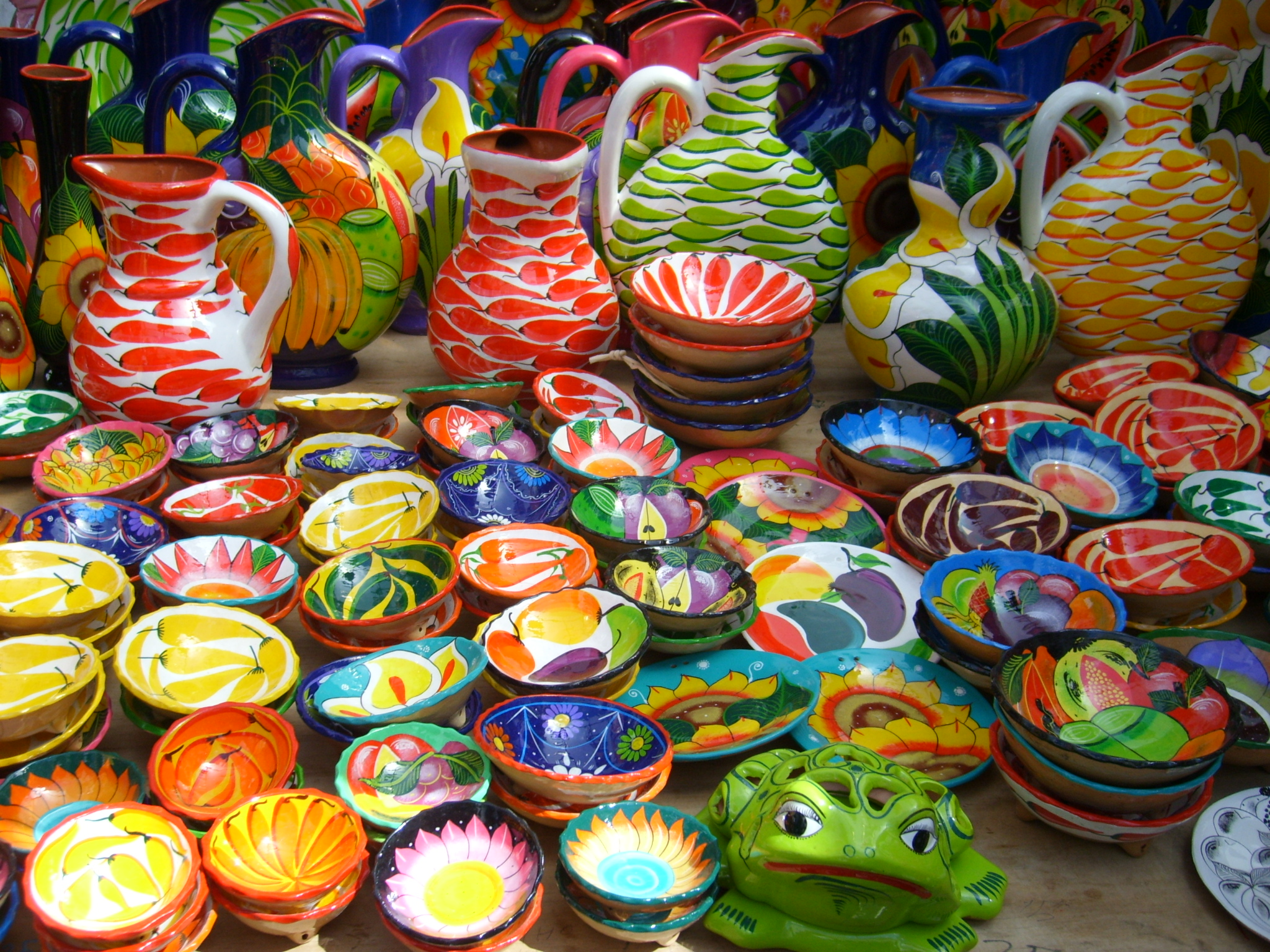 Bazar de artesan a mexicana y festival gastron mico en - Artesania y decoracion ...
