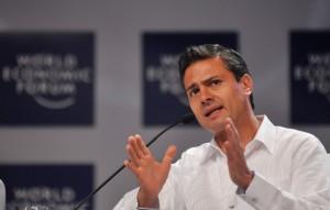 peña Nieto World Economic Forum flickr