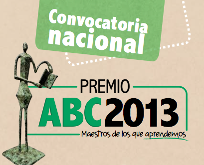 Abierta la convocatoria premio abc 2013 para reconocer for Convocatoria de maestros