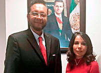 2Magistrado Alfredo Lagunas y Dra. Ma. de los Ángeles Fromow