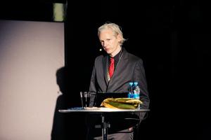 Julian Assange - New Media Days