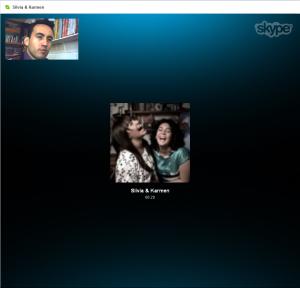 Skype - Silvia & Karmen
