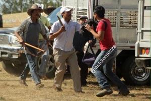 agresión periodistas 1 GRUPO PRENSA OAXACA