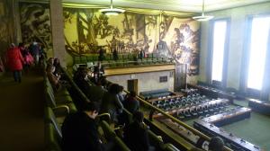 Cámara Consejo del Palacio de Naciones, ONU Ginebra CC Luiyo