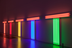 Dan Flavin - Structure and clarity - Tate Modern Museun London CC supercarroadtrip.fr
