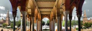 Plaza de España de Sevilla 180grados cc S. Hoya