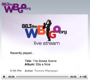 wbgo.org reproductor jazz