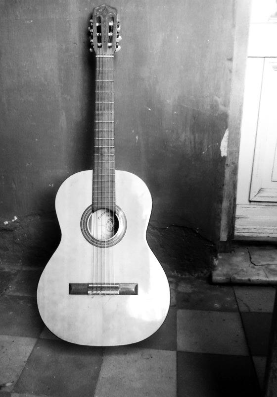 Cesar Fabrica. guitarra