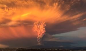 Volcan erupcion Chile Cooperativa.cl