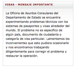 Aviso embajada EU Visas 12jun15