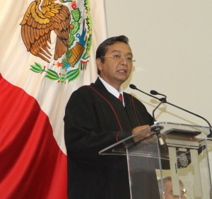Magistrado Alfredo Lagunas Rivera (T)