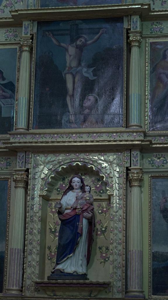 Detalle retablo san miguel el grande fahho