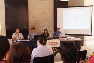 Uabjo Panel gestión cultural julio 2015