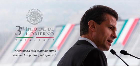 3er informe de gobierno por Presidencia de la Repúblic