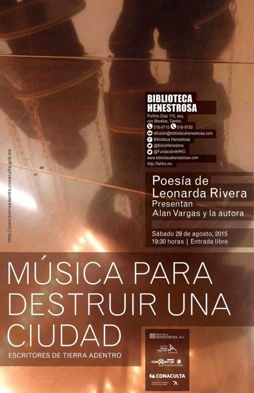 Música para destruir una ciudad por @Biblioteca Ándres Henestrosa