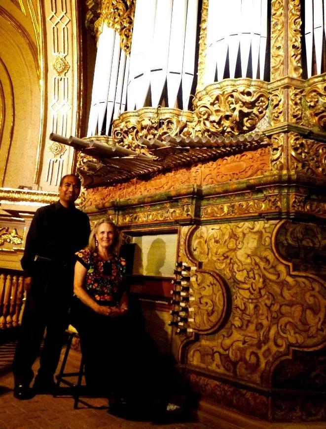 Organo de la Basilica de la Soledad Cecilia Winter y Valentín Hernández @IOHIO(4)