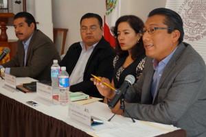 Anuncian PJO y Cepiadet en rueda de prensa creación de plataforma de intérpretes para procesos judiciales