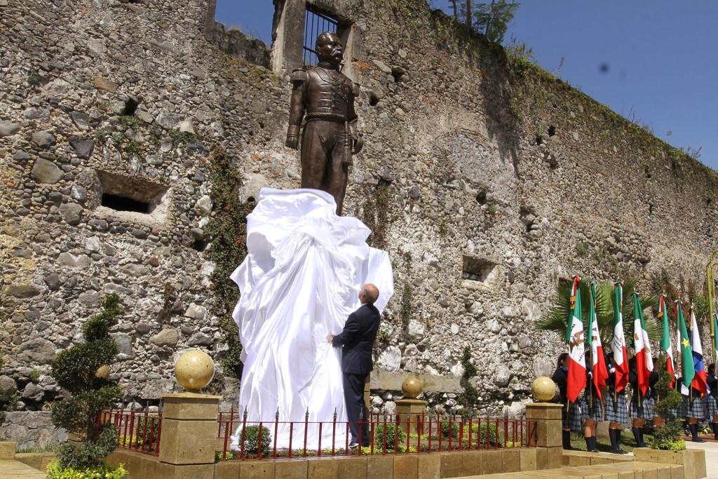 Estatua Porfirio Díaz Ayuntamiento Orizaba