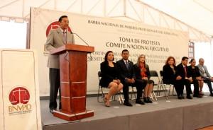 Intervención del magistrado Alfredo Lagunas