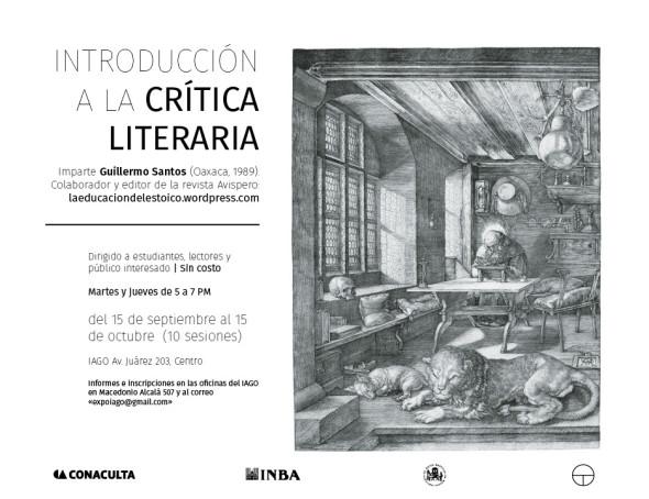 Introducción a la Crítica literaria