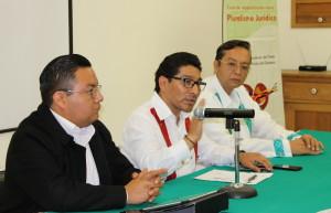 El titular del Poder Judicial acompañado del director general del INALI y el presidente del Cepiadet clausuraron el curso sobre Pluralismo Jurídico