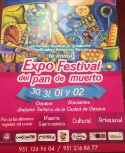 Expo Festival de Pan de Muerto
