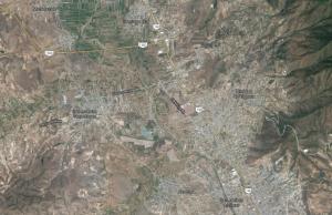 San Lorenzo Cacaotepec, Mapa