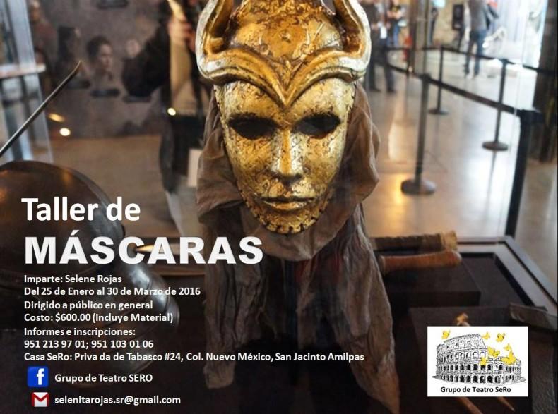Taller Máscaras Grupo de Teatro SERO