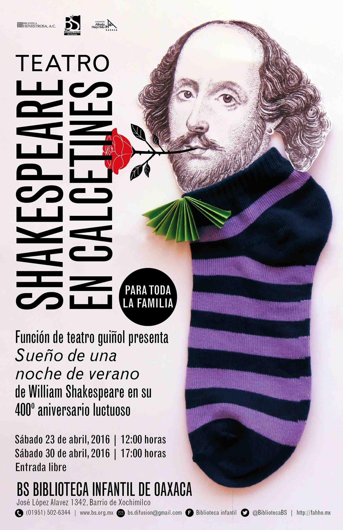 shakespeare en calcetines
