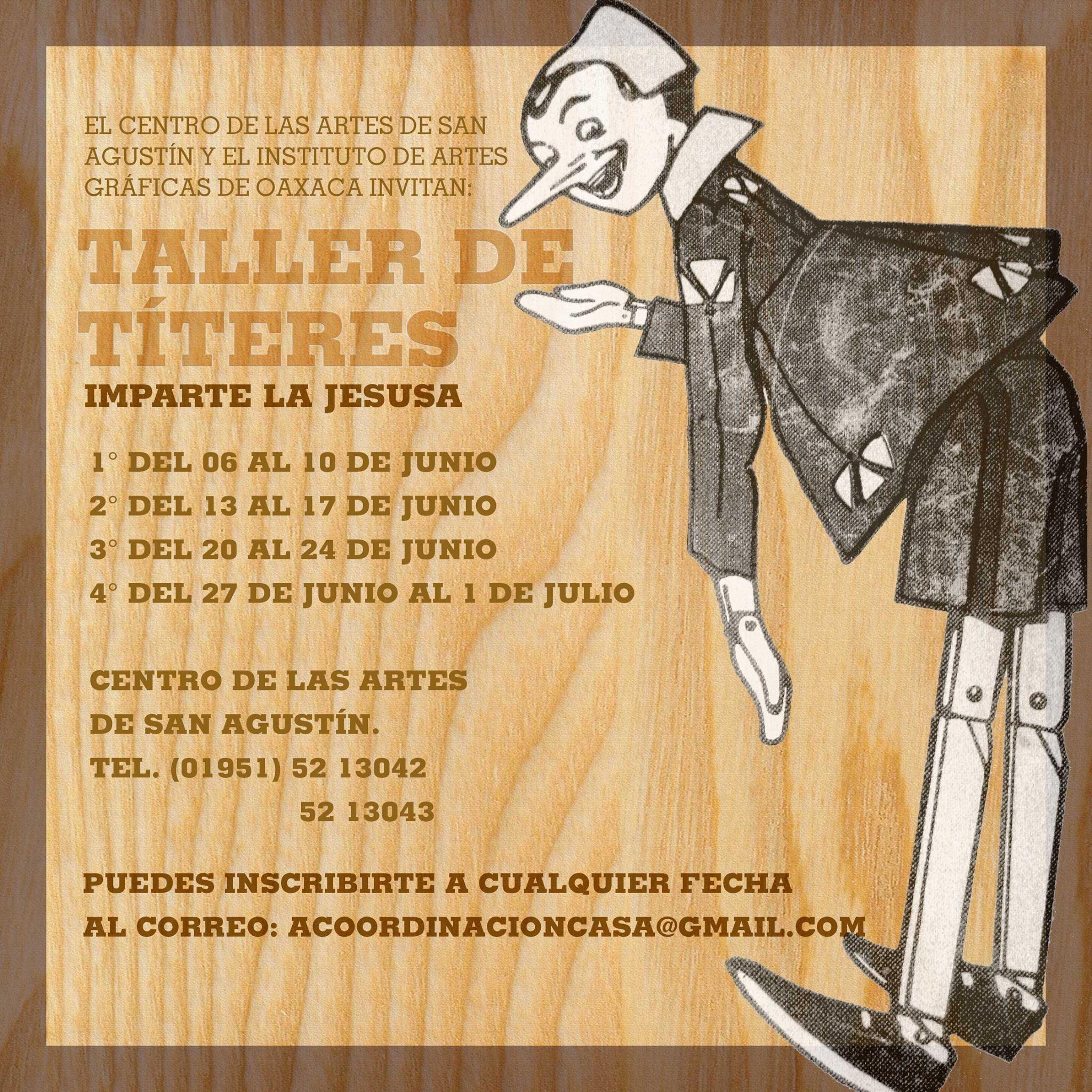 TALLER DE TÍTERES