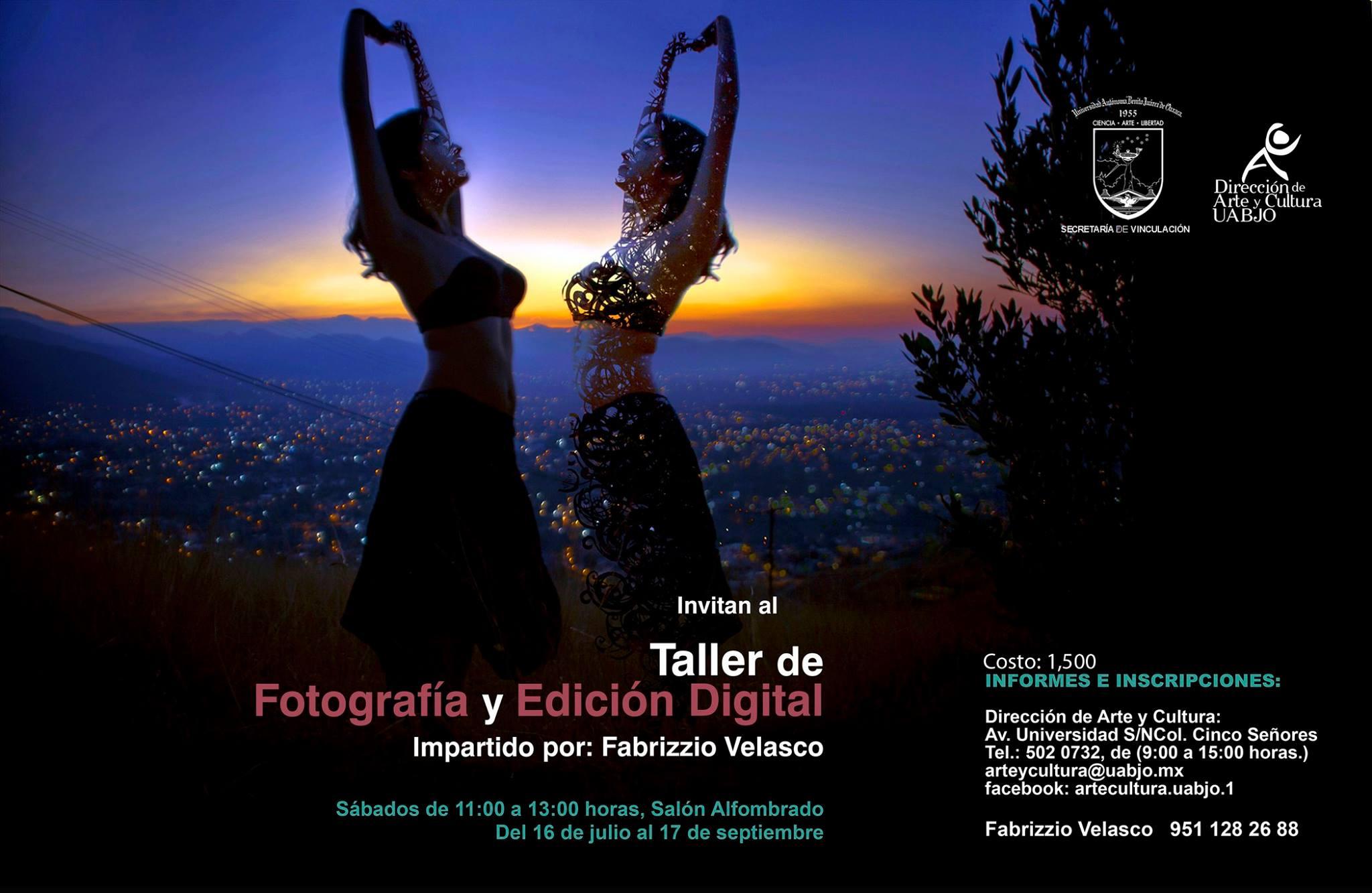 TALLER DE FOTOGRAFÍA Y EDICIÓN DIGITAL